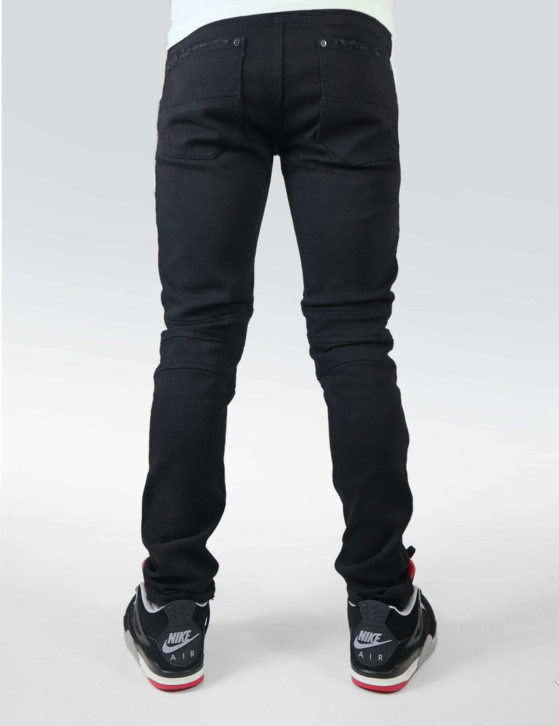 Eldredge  Moto denim (Buffalo Black)