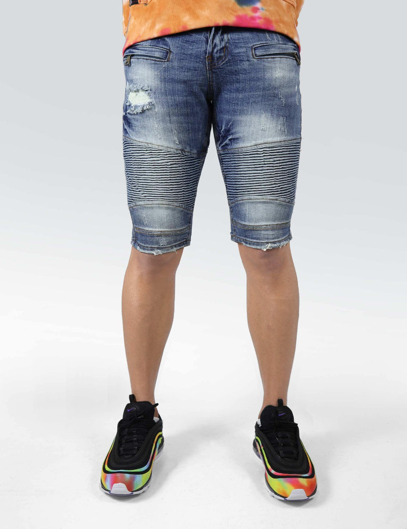 Geneva denim short