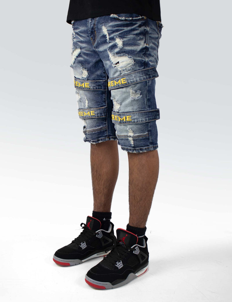 Havasu Straped Denim Short