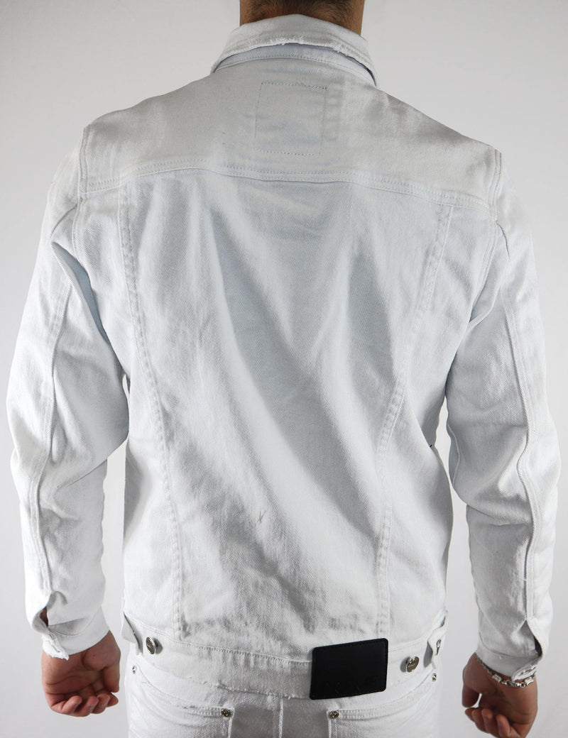 CLASSIC DENIM JACKET WHITE