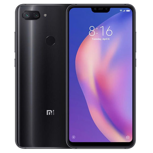 "Global ROM Xiaomi Mi 8 Lite 6GB RAM 128GB ROM Mobile Phone Snapdragon 660 6.26"" FHD+19:9 Full Screen 24MP Front Camera"