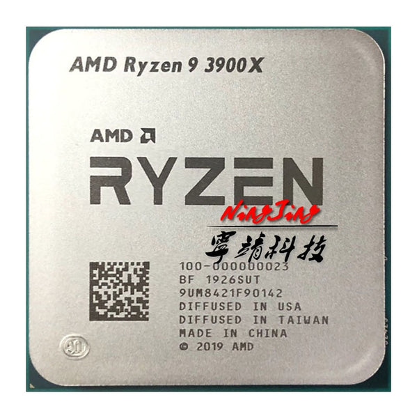 AMD Ryzen 9 3900X 3.8 GHz Twelve-Core 24-Thread CPU Processor 7NM L3=64M 100-000000023 Socket AM4