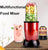 Multifunctional Electric Juicer Mini Portable Automatic Blender Baby Food Milkshake Mixer Meat Grinder Fruit Juice Machine EU US
