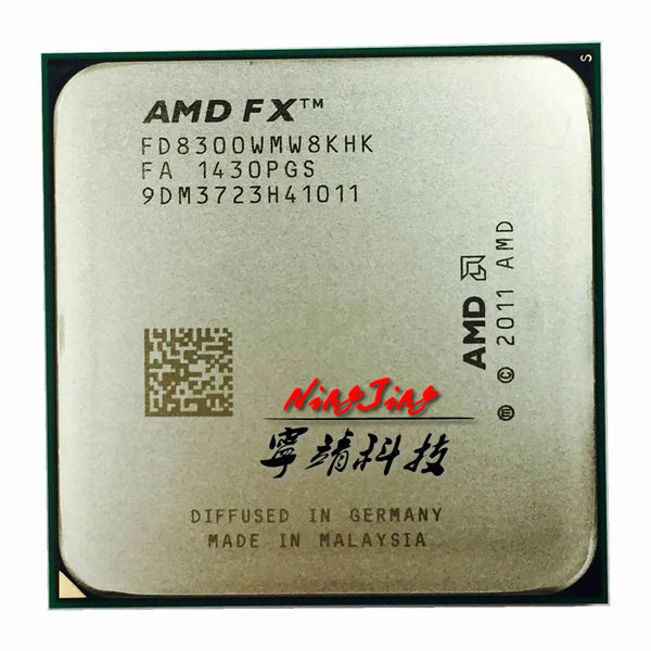 AMD FX-8300 3.3 GHz Eight-Core 8M Processor Socket AM3+ CPU 95W Bulk Package FX-8300