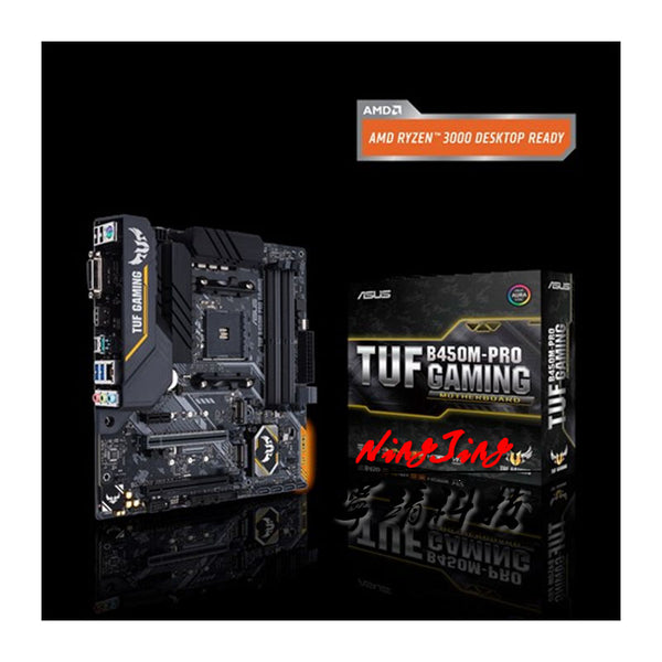 ASUS TUF B450M PRO GAMING DDR4 3466MHz 128G M.2 HDMI DVI-D SATA 6Gb USB 3.1 Support R3 R5 R7 R9 Desktop AM4 CPU