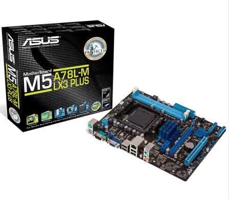 Asus M5A78L-M LX3 PLUS Micro ATX  SATA 3Gb/s USB 2.0 DDR3 1866 VGA 32G Support 95W AM3 / AM3+ CPU Socket AM3+