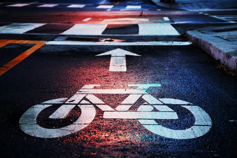 Cycling highway roadsigns