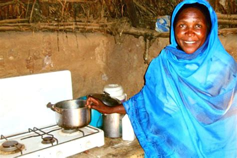 Low smoke cookstoves Sudan