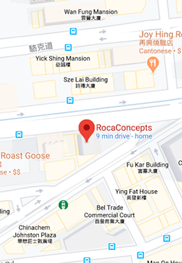 Colourliving Our Store - RocaConcepts Store Address