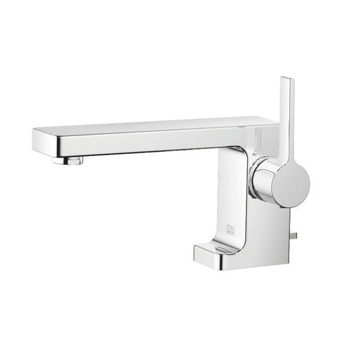 Dornbracht 33.500.710.00 LuLu single-lever basin mixer with pop-up waste, 155mm projection, chrome plated (GA no.: C20200010)
