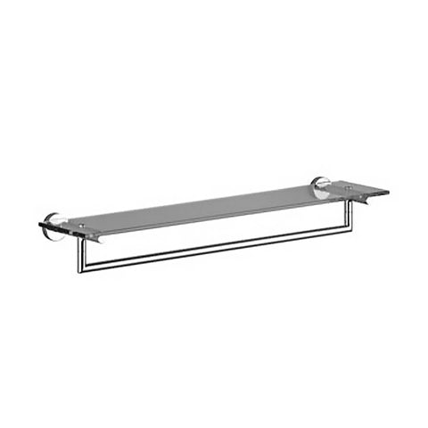 Meta. 02 wall-mounted towel bar with shelf 83065979-00