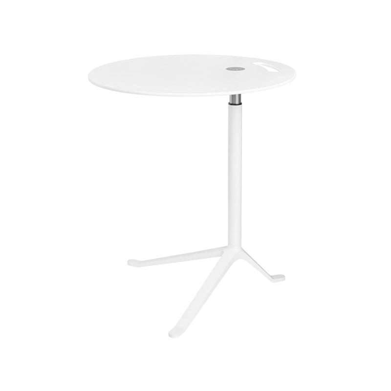 Little Friend Side Table in White (Height Adjustable)