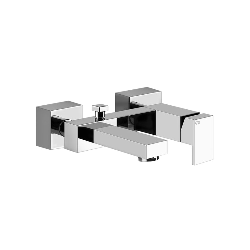 Rettangolo wall mounted bath mixer 20013.031