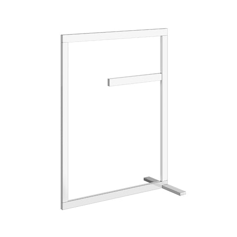 Rettangolo freestanding towel rack 20941.031