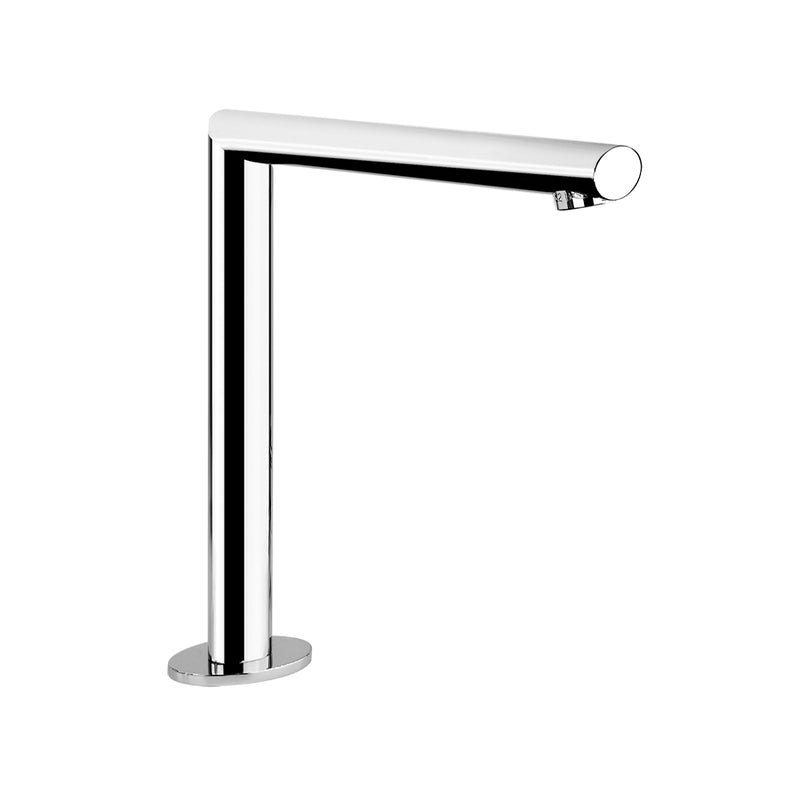Gessi 23091.031 ovale deck mounted spout with separate control, chrome