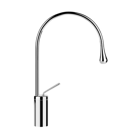 Gessi'  33605.031 Goccia High Single Lever Basin Mixer  Finish: Chrome (Cp)