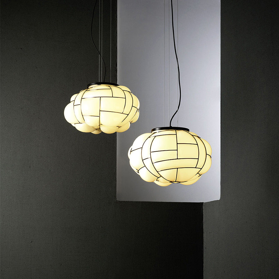 Egg Pendant Lamp in Grey