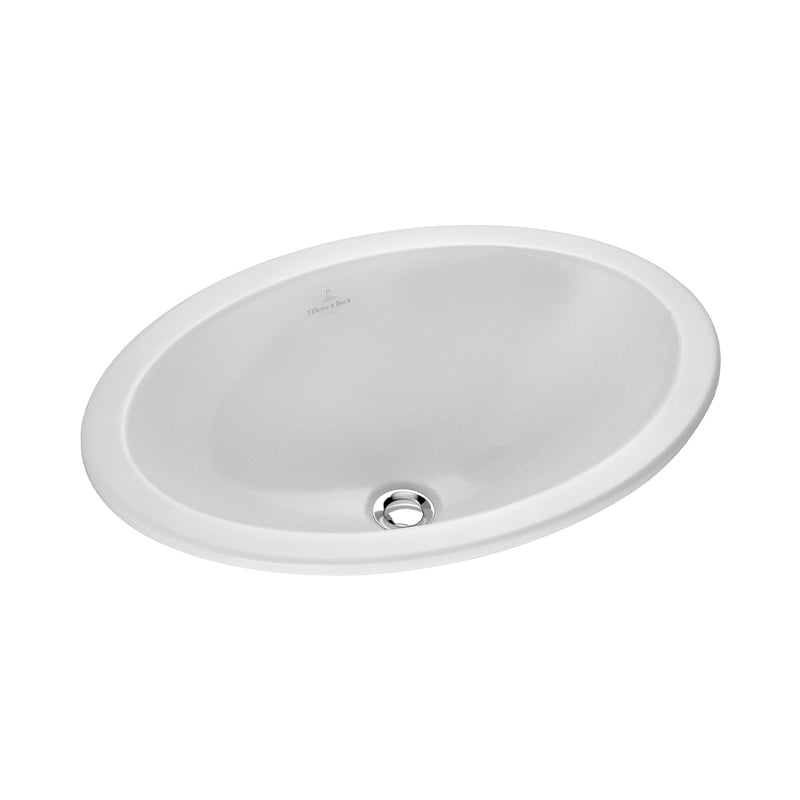 Loop & Friends semi-recessed washbasin 6155.30.R2