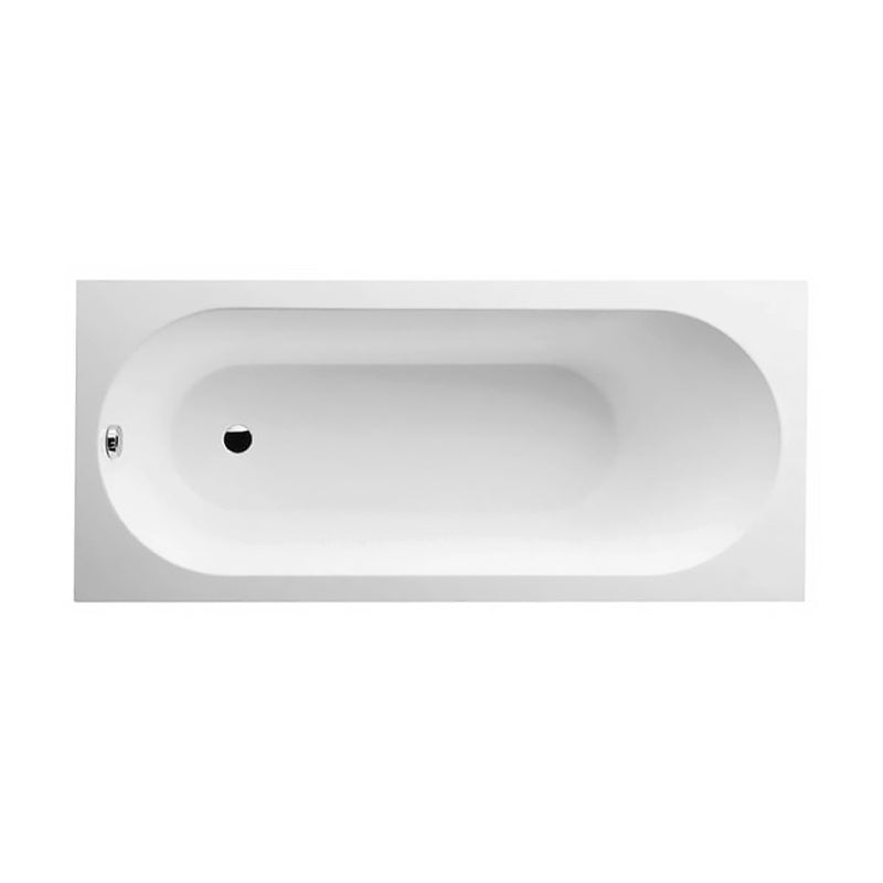 Villeroy & Boch   Ubq160obe2v.01 Oberon Bathtub Without Overflow Hole Colour : White (01)