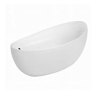 Villeroy & Boch'  Ubq194 Ave 9pd V Aveo Free Standing Bathtub  Finish: White (01)