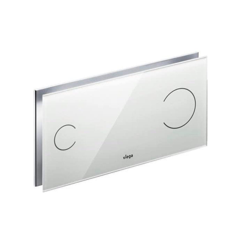 Viega'  835211 (615895) Temper Glass Flush Plate 230v