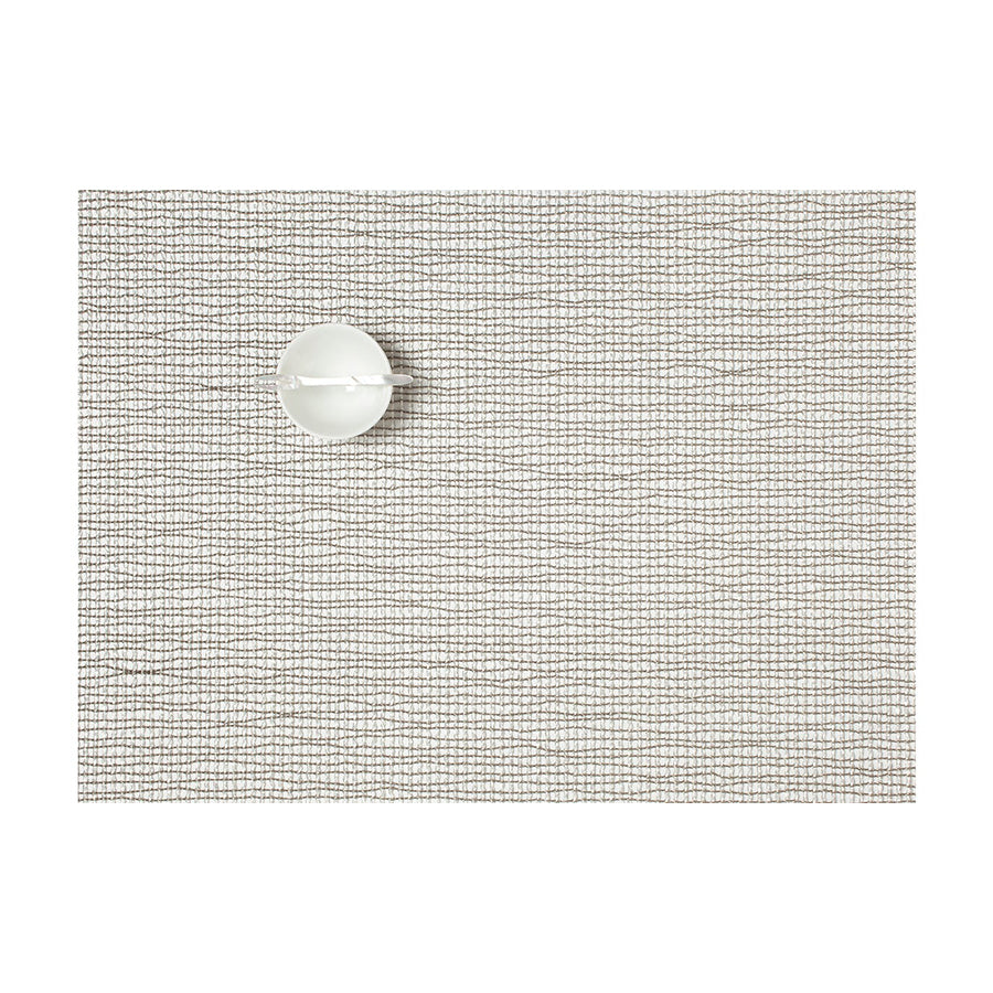 Lattice Rectangle Placemat in Silver