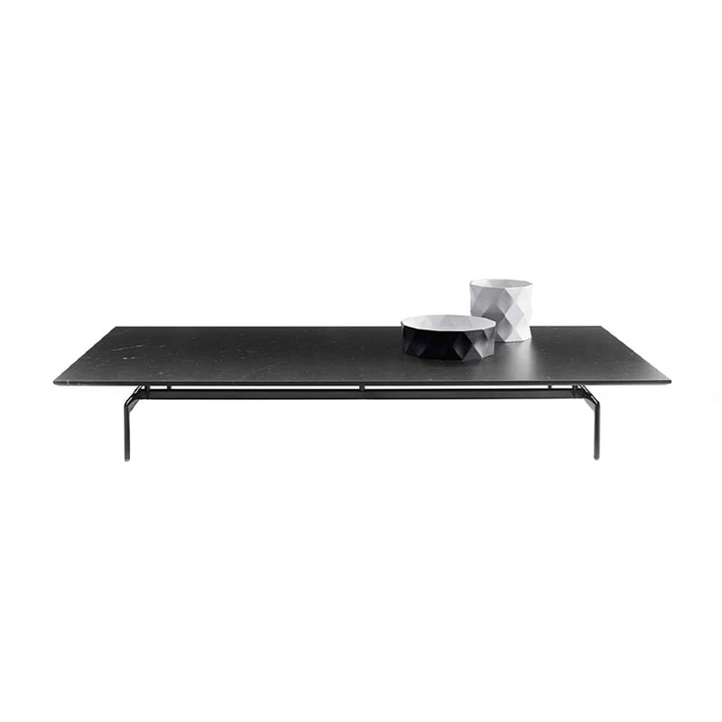 Diesis Small Table With Matt Marqunia Black Marble Top