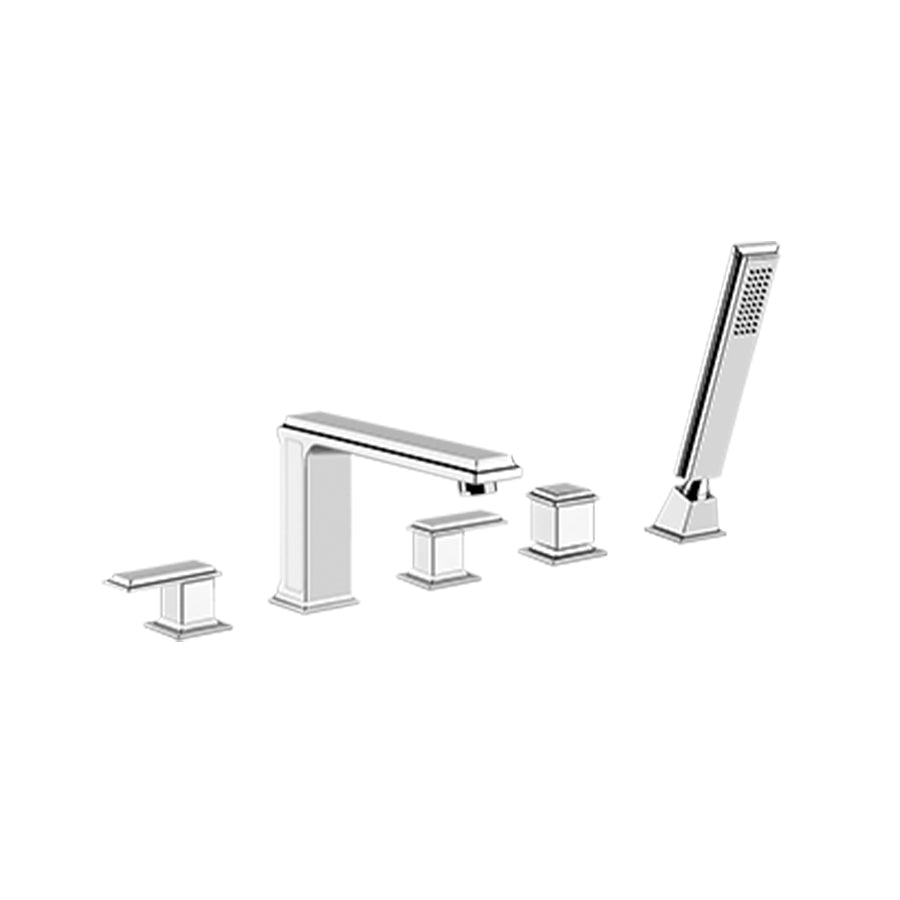 Eleganza deck-mounted bath mixer 46040.031