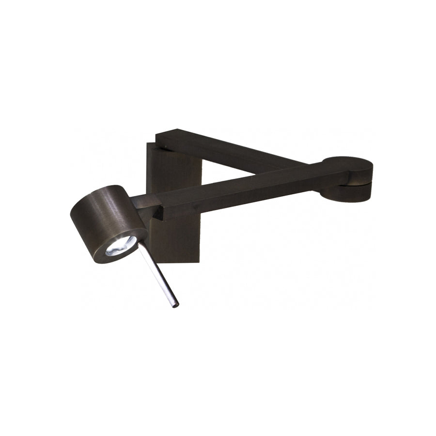 Manhattan AP Wall Lamp in Satin Bronze aluminium