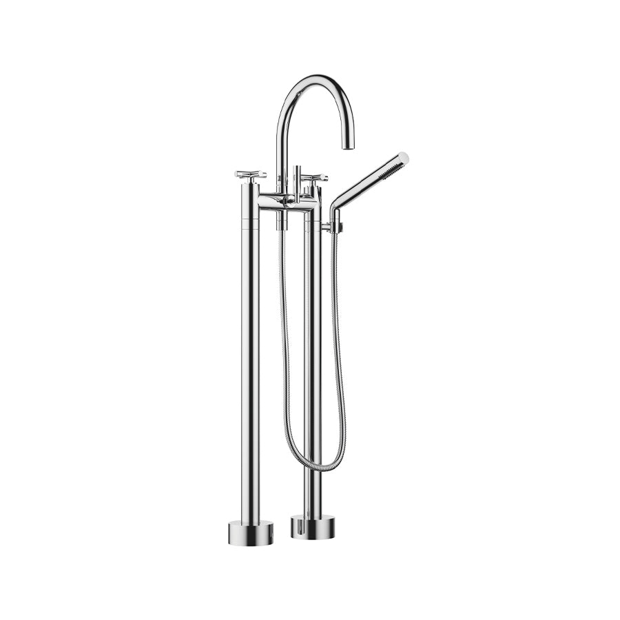 Tara floor-mounted bath mixer set 25943892-00