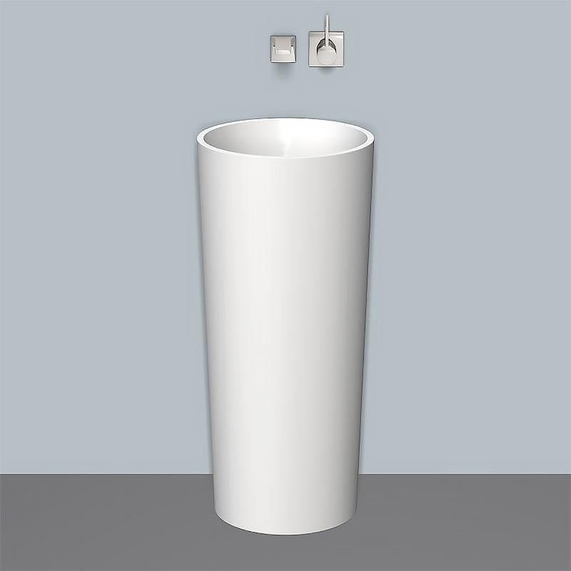 Wtrx400co 4507500000 Free-Standing Round Basin 400mm in White with Drain Valve