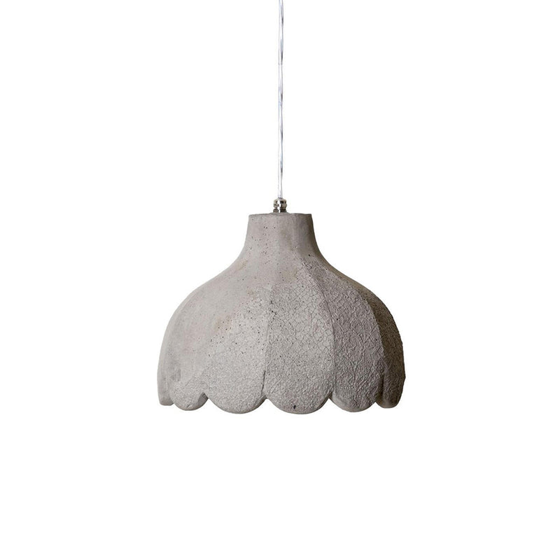 Settenani Pisolo Suspension Lamp in dove grey concrete