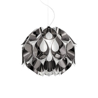 Flora Medium Pendant Lamp in Pewter