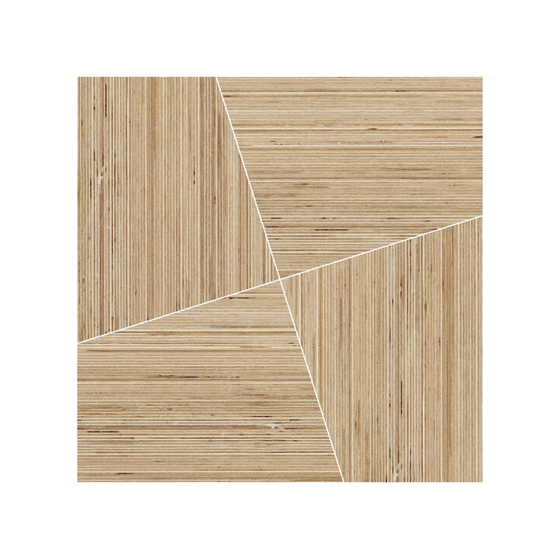 Woodlines Modulo A 0140202 tiles 44.5 x 44.5 x 10 mm in Birch (set of 4)