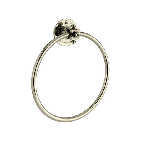 Marlborough towel ring TCACMB229CP