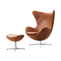 Egg Lounge Chair in Ria 441 Fabric