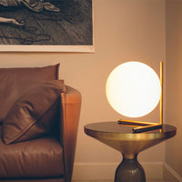 IC T2 Table Lamp In Brass