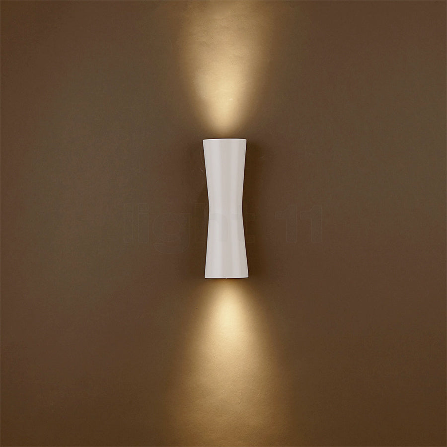 Clessidra 40°+40° Wall Lamps in White