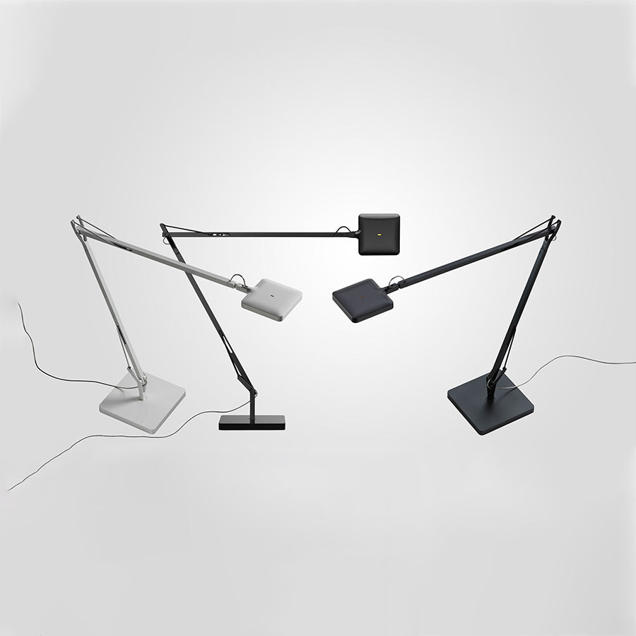 Kelvin LED Table Lamp in Glossy Black