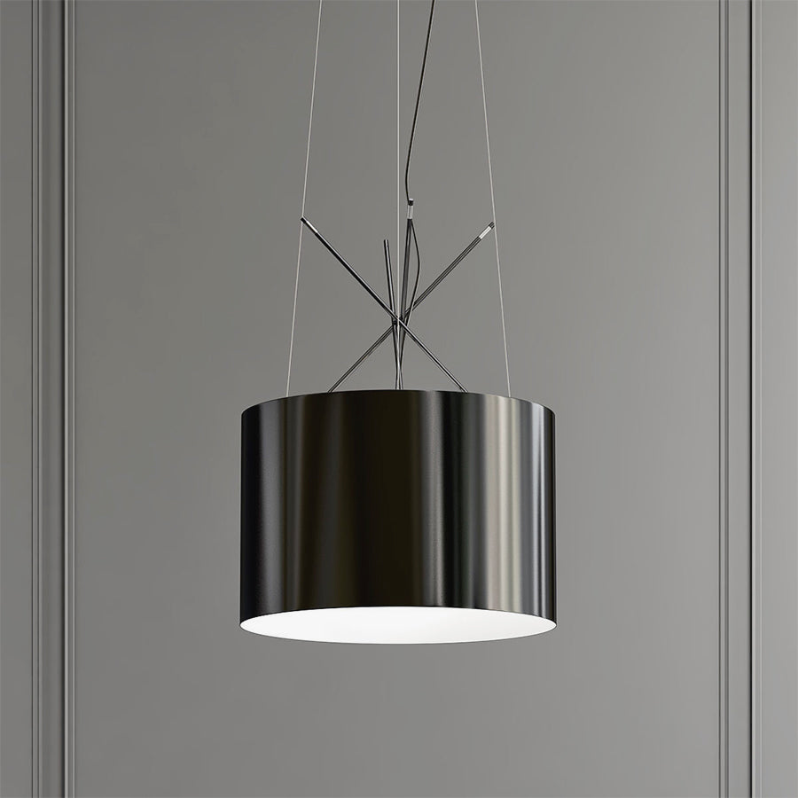 Ray Suspension Lamps in Black