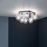 Taraxacum 88 Ceiling-Wall Lamp in aluminum