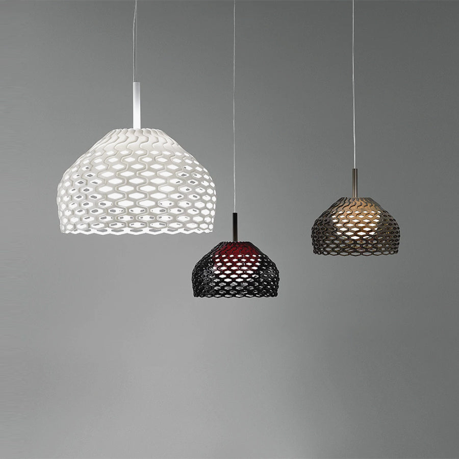 Tatou Suspension 2 Suspension Lamps in White