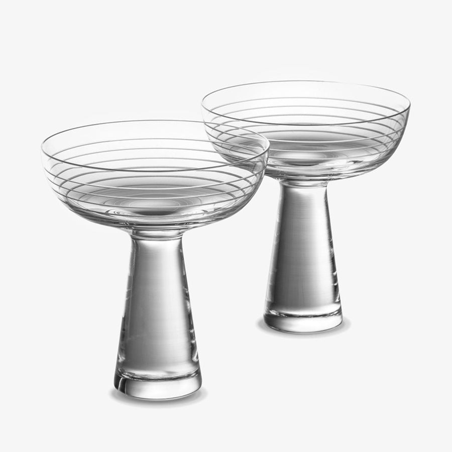 Otto Champagne Coupe - Set of Two