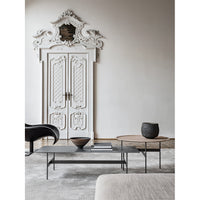 Formiche FR120 Small Table with Grey Porcelain Stoneware Top