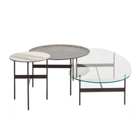 Formiche FR47V Small Table With Titanium Top