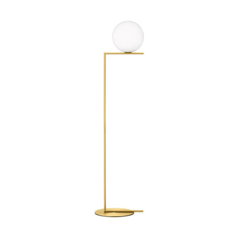 IC Lights Floor 1 Floor Lamp in Brass
