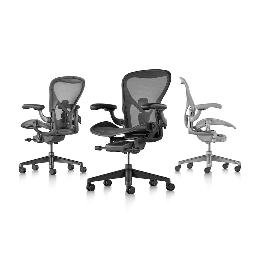 Aeron Task Chair in Carbon