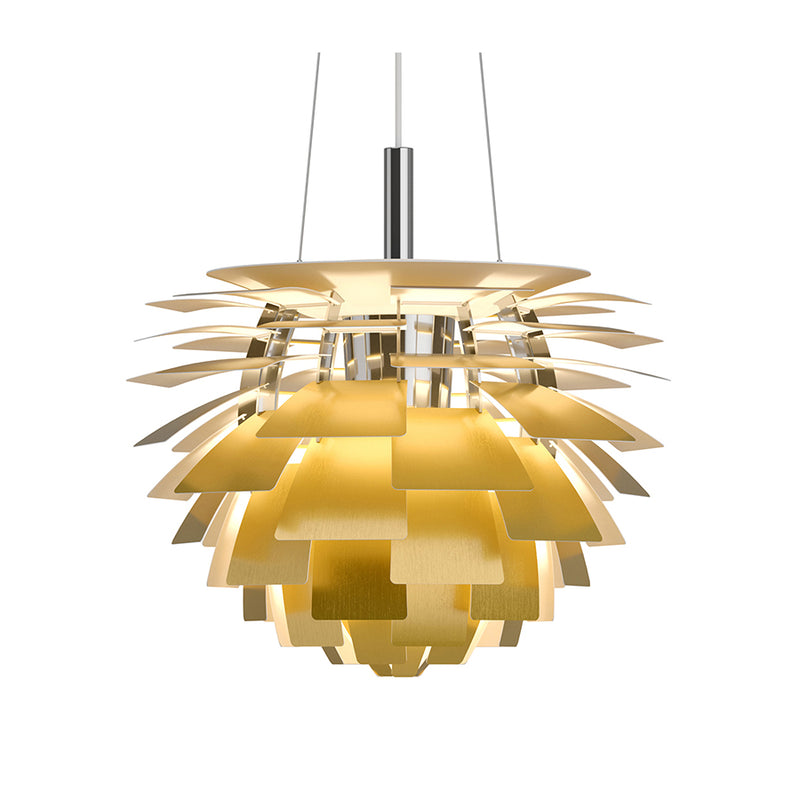 PH Artichoke 600 Pendant Lamp in Brass