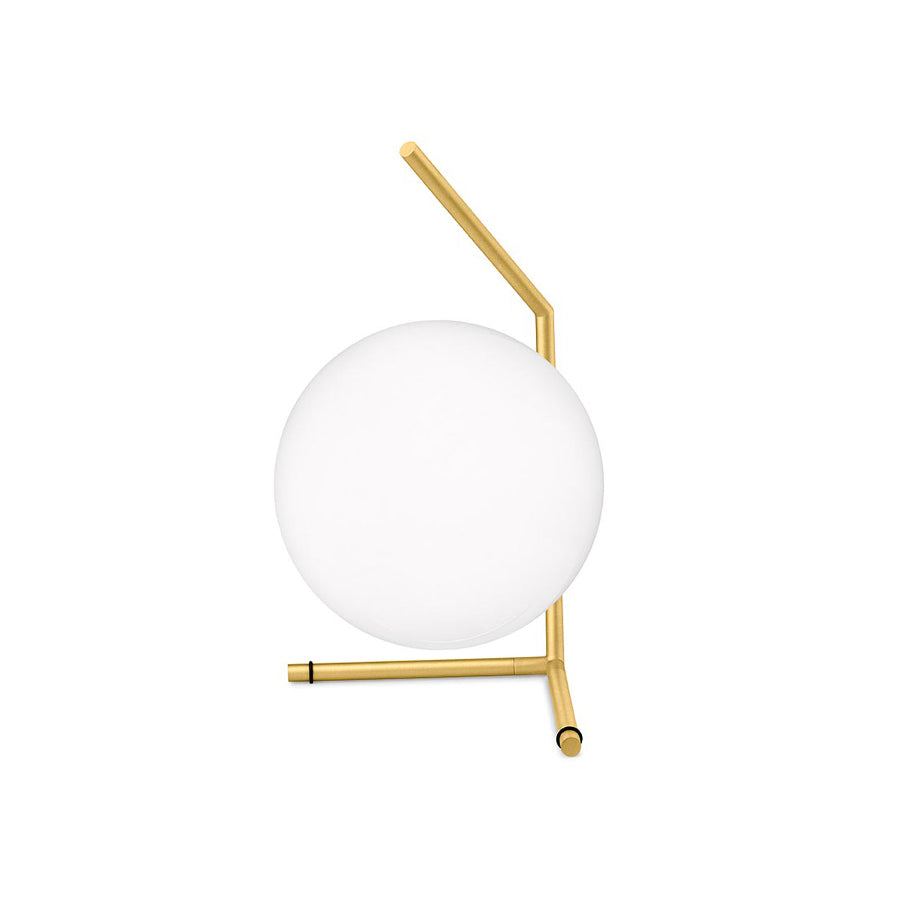 IC Lights Table 1 Low Lamp in Brushed Brass