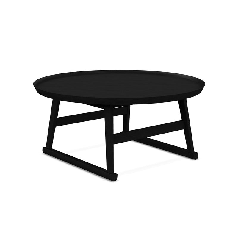 Recipio '14 Small Table In Black Shellac Painted